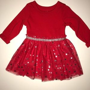 Other - Beautiful red dress for baby girl 💐